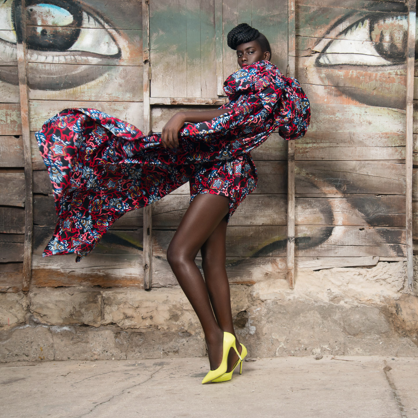 DANIEL HECHTER WAX look book shot in SENEGAL